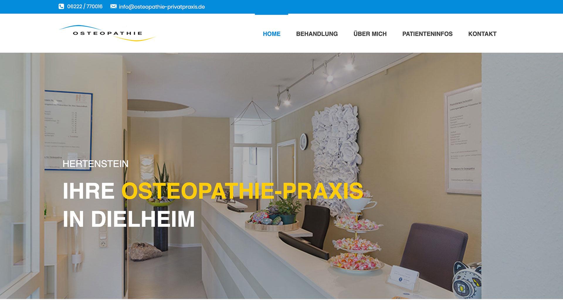 Osteopathie Praxis | Hertenstein