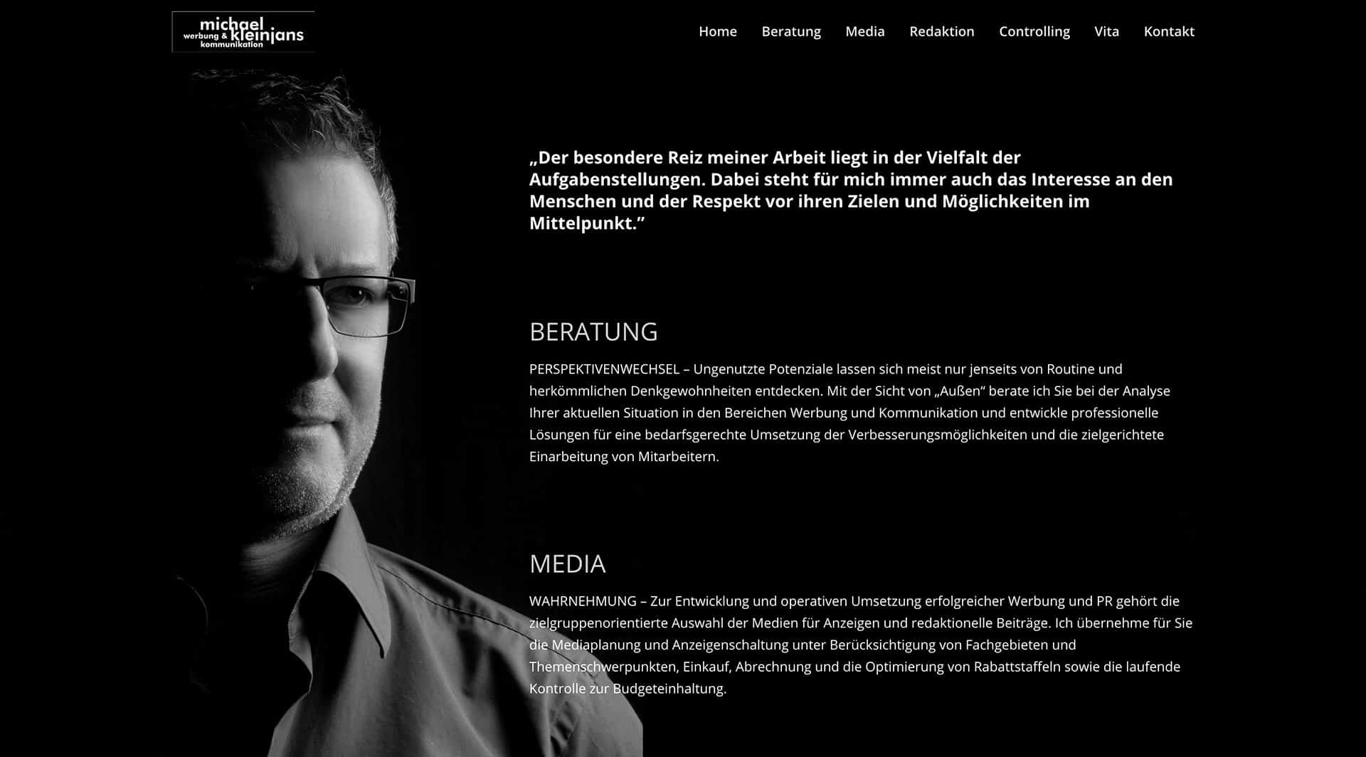Werbung & Kommunikation | Michael Kleinjans