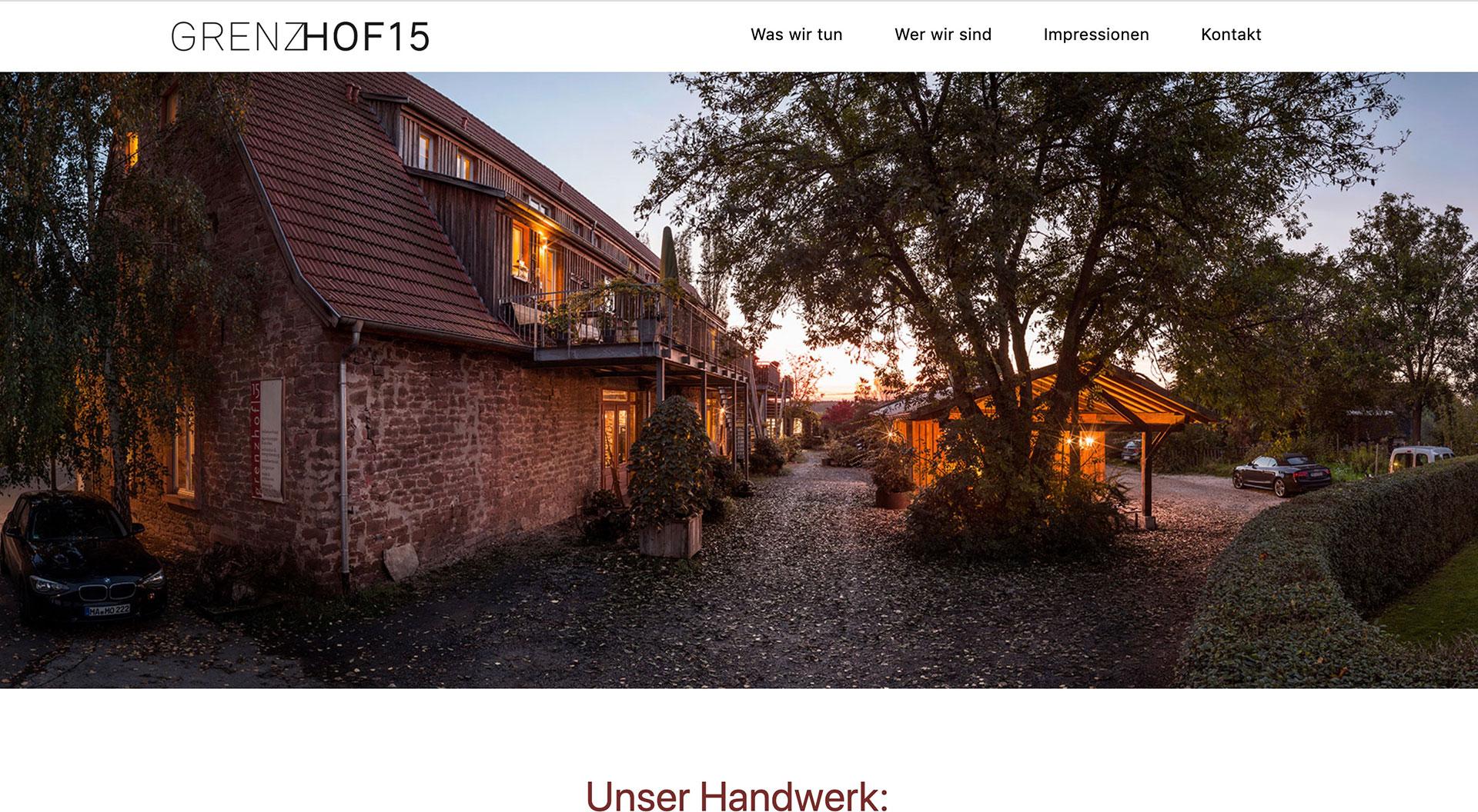 Werkstätten |Grenzhof 15