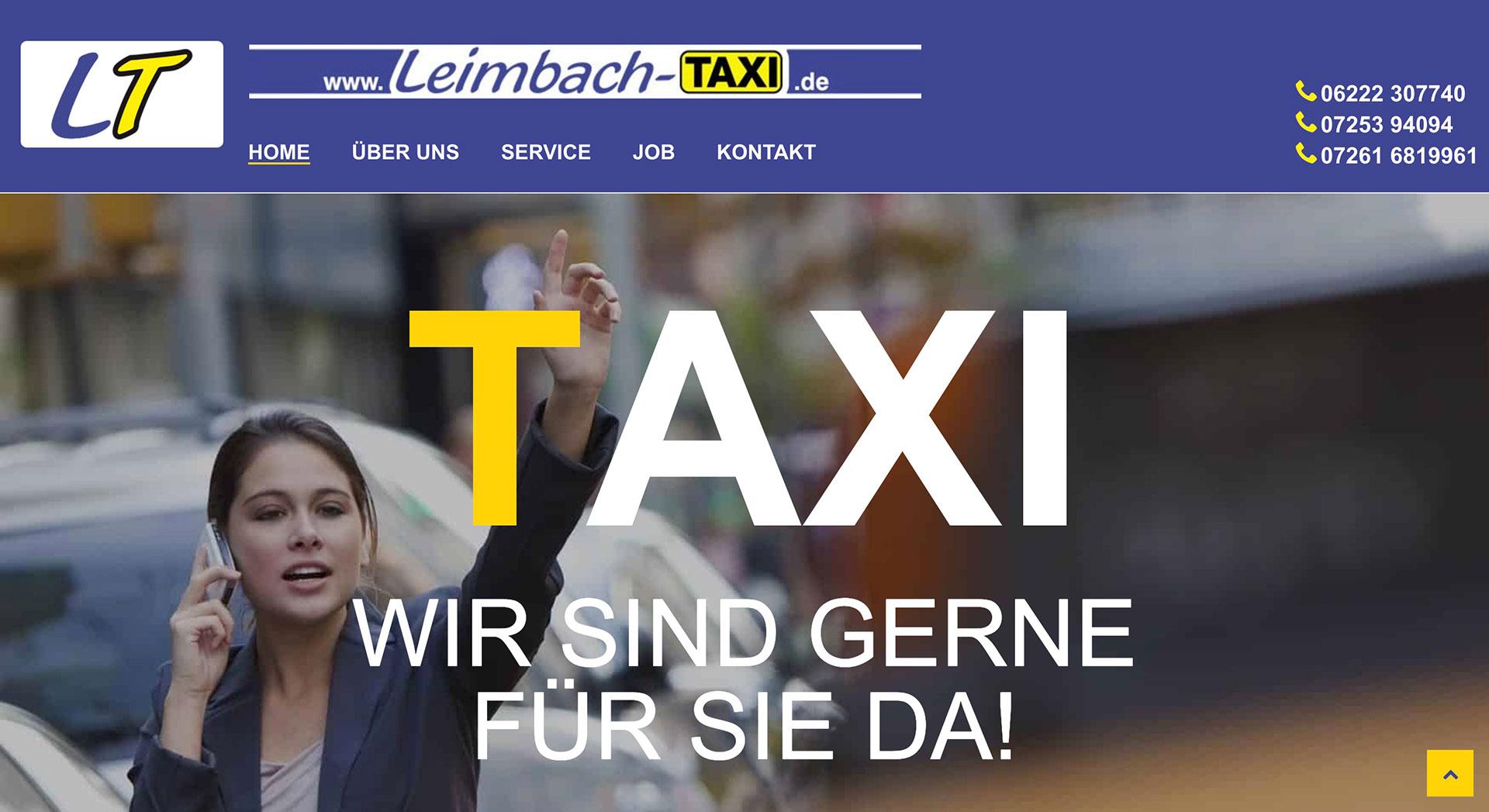 Taxiunternehmen |Leimbach-Taxi GmbH