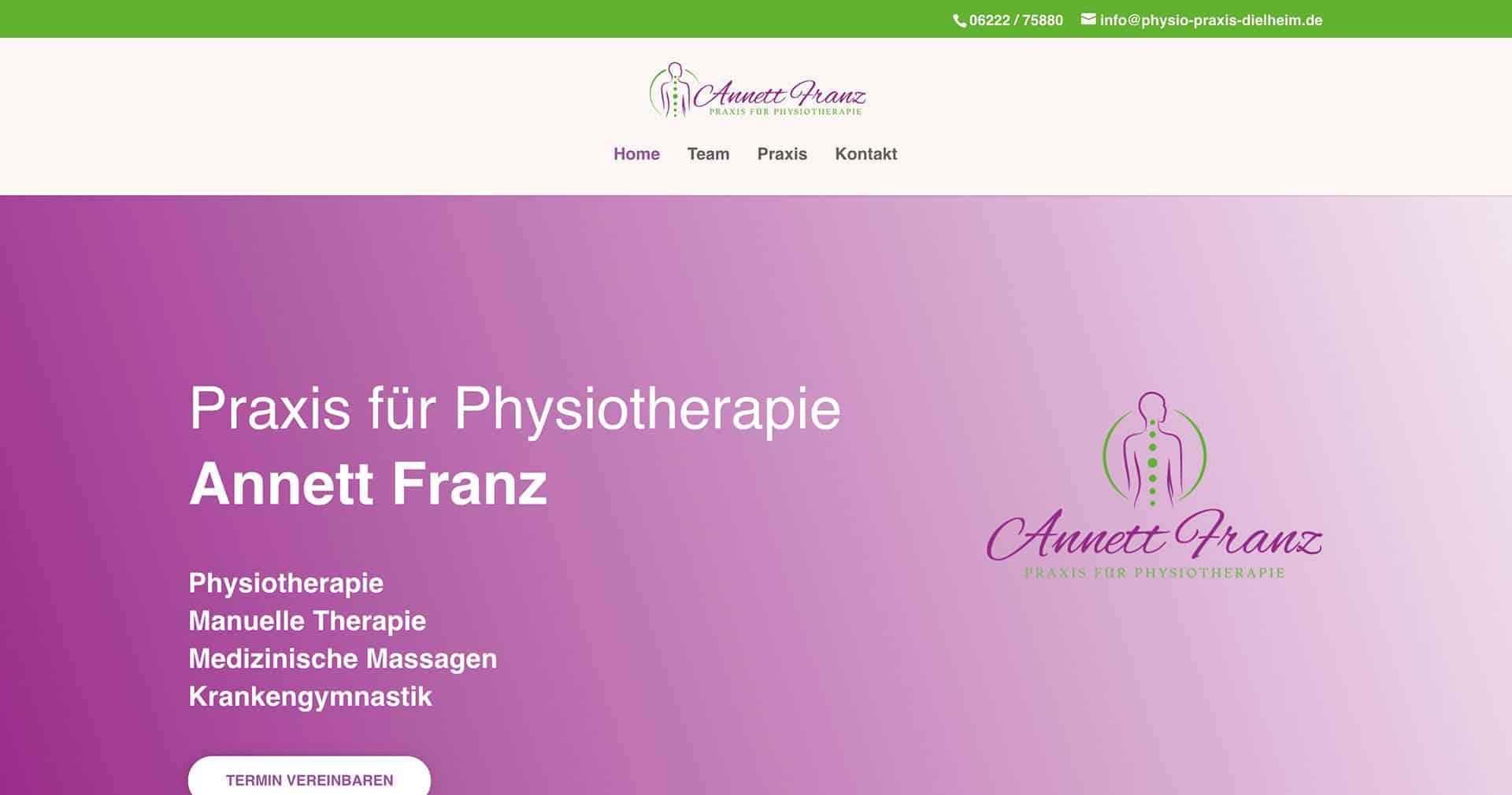 Physio Praxis | Annett Franz